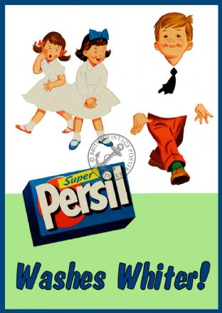 Persil Washing Soap  Powder Advert